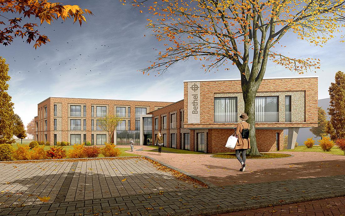 Wohnstätte Stade, ARCHMODELL, 3d-Visualisierung