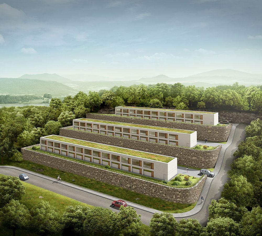 Daegu Boardinghouse, ARCHMODELL, Architekturvisualisierung