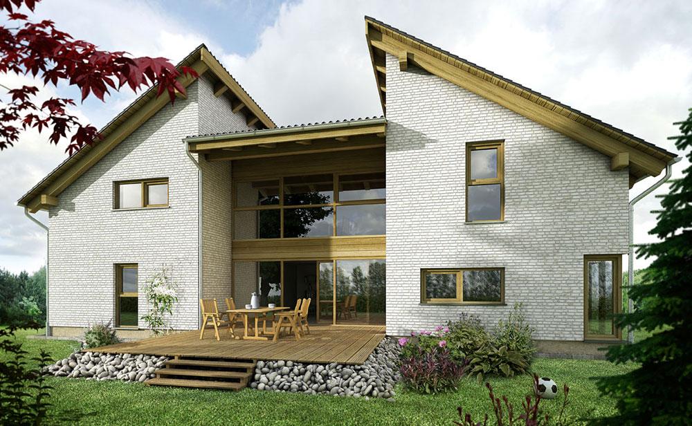 Einfamilienhaus, ARCHMODELL, 3D-Visualisierung