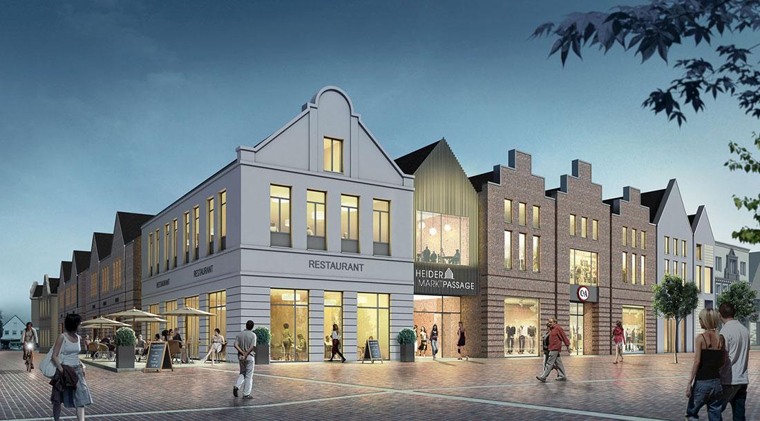 EKZ-Heide, ARCHMODELL, Architekturillustration