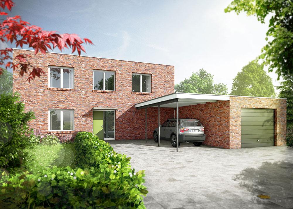 Haus Hilbrath, ARCHMODELL, 3D-Visualisierung