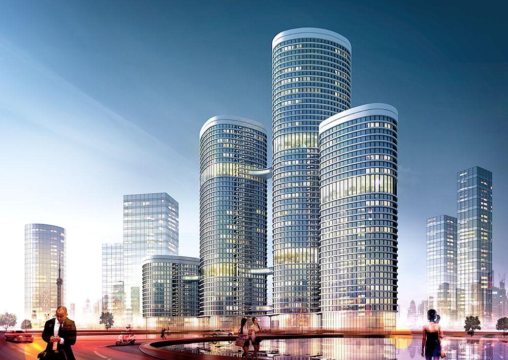 Hochhaus-K3, 3D-Visualisierung