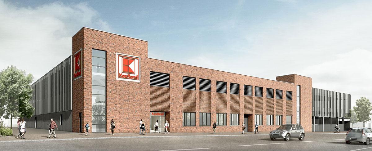 Markthalle Heide, 3D-Visualisierung, ARCHMODELL