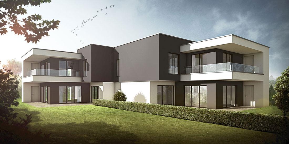 Stadtvilla Schwerin, ARCHMODELL, Architekturvisualisierung