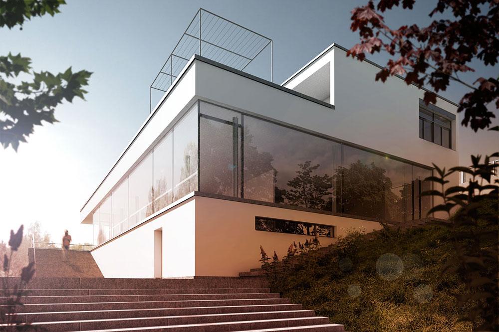 Villa Tugendhat, ARCHMODELL, Architekturvisualisierung