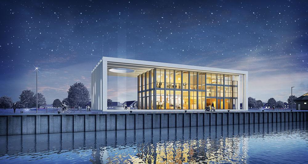 Gasthaus Penemuende, 3D-Visualisierung, ARCHMODELL