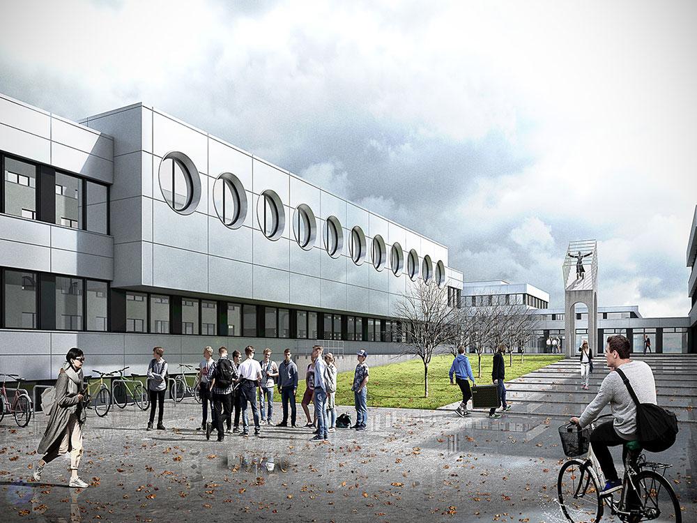 HTW-Saarbrücken, PASD Architekten, Architekturvisualisierung
