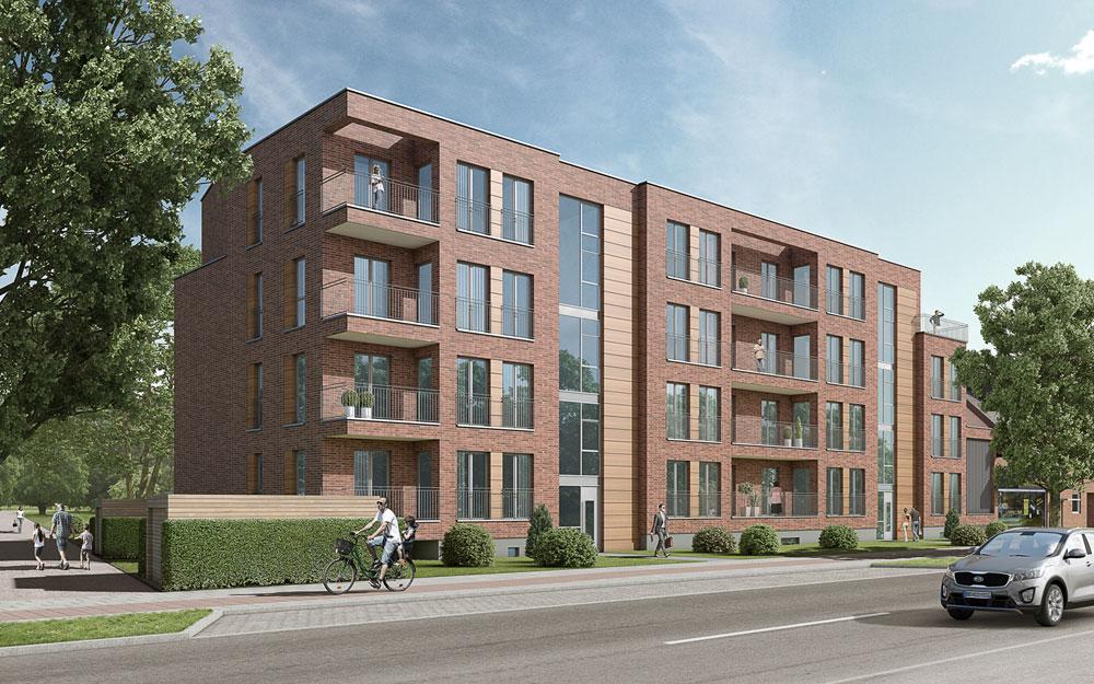 Wohnhaus Wellingsbüttel, ARCHMODELL, 3D-Visualisierung