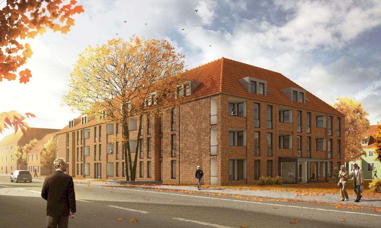 Architekten Lüneburg archmodell architekturvisualisierung architekturillustration