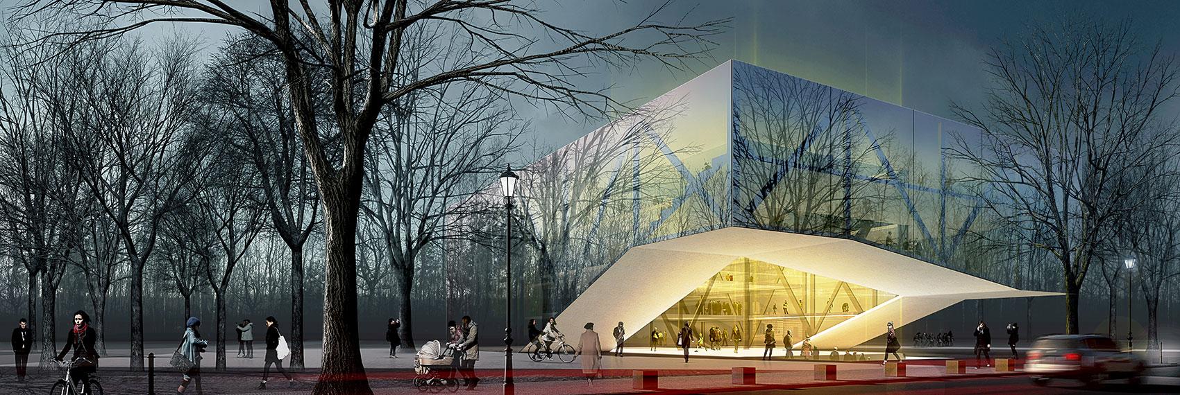 Archmodell architekturvisualisierung architekturillustration - Architekturvisualisierung berlin ...